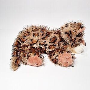 Ganz Webkinz Leopard Spotted Cat Plush Fuzzy Soft Stuffed Animal NO Code
