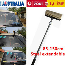 Car Wash Clean Brush Extendable Pole Car Vehicle Washing Brush Deep Cleaning AU