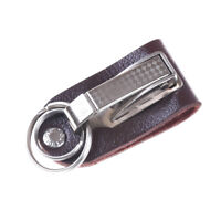 Hanging Keychain Key Ring Clip On Belt PU Leather Key Chain Key Holder NTZY