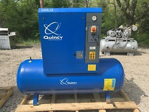 15 HP Quincy Rotary Screw Air Compressor