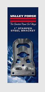 "SB3-1 VALLEY FORGE 1"" Stamped Steel Flag Pole Bracket w/ Screws Flagpole Holder"