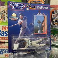 NIB 1998 Starting Lineup MLB Seattle Mariners Ken Griffey Jr Baseball Toy