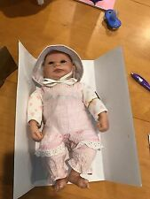 "Tiny Harriet Real Touch vinyl  10"" baby doll by Linda Webb for Ashton-Drake"