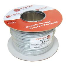100M Reel Cat5e UTP Solid Core Networking, Ethernet Data Cable, CCA, 24AWG,