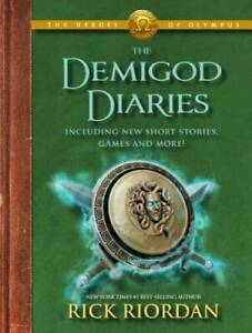 The Demigod Diaries (The Heroes of Olympus) - Hardcover By Riordan, Rick - GOOD