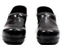 Dansko Womens Shoes Clogs Professional Nursing Comfort Leather Black Size 11.5