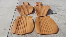 BMW E9 3.0CS 2800CS FRONT SEAT KIT SET 100% LEATHER NEW BEAUTIFUL KIT NEW