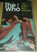 The Kids Are Alright (VHS), GOOD CONDITION, FREE UK FAST POST!