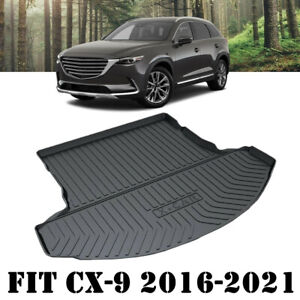Heavy Duty Waterproof Cargo Rubber Mat Boot Liner for Mazda CX-9 CX9 2016-2021