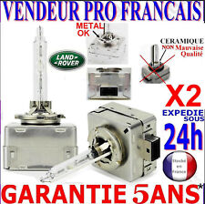 2 D3S AMPOULES XENON LAMPE FEU PHARE 35W HID 5000 6000 8000 POUR LAND ROVER 12V