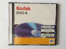 KODAK DVD - R  DVD - 16X 4.7GB 120min Printable Surface