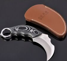 Karambit knife Hunting Knives Camping Tool Survival Tactical Knife Stainless