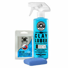 Chemical Guys CLY_109 - Clay Bar & Luber Synthetic Lubricant Kit, Light Duty