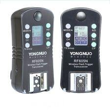 Yongnuo rf-605n Disparador De Flash Sutter liberación Para Nikon D7100 D5200 D5100 D3200
