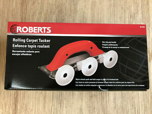 Roberts Rolling Carpet Tucker R10523/Tucks 5 Times Faster / Flooring/Carpet Tool