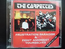 THE  CARPETTES  -  FRUSTRATION PARADISE & FIGHT AMONGST YOURSELVES, CD 1996 PUNK