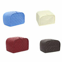 Hottest Quilted Kitchen Dining Countertop Appliance 2/4 Slice Toaster Dust Cover