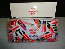 CHANEL ROUGE COCO GLOSS EXCLUSIVE LIP GLOSS MAKEUP BAG NEW WITH BOX