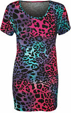 Viscose Animal Print Casual Other Women's Tops