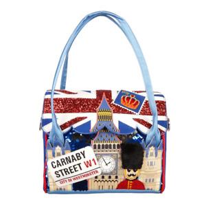 Big Ben Chimes London Irregular Choice Shoulder Handbag