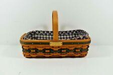New ListingLongaberger Basket Jw Collection Miniature 2000-2001Edition Gathering Basket