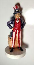 Vintage Sebastian Miniatures Uncle Sam #6206