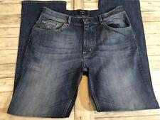 New Gant Men's Jeans W34 L32 Normal Waist Regular Fit Stretch Blue Med Wash N26