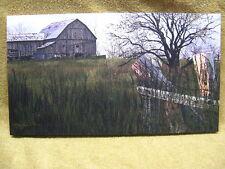SUMMER Barn Canvas Painting Wall Decor Farm Country Seasons