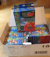 6 Giant Tomato Tree Gardeners Choice 6 Pre-Seeded Pots As Seen On TV