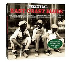 FIFTY ORIGINAL EAST COAST BLUES CLASSICS NEW 2CD SONNY TERRY, JOSH WHITE Etc.