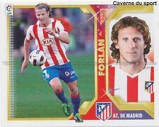 FORLAN ATLETICO MADRID STICKER CROMO PANINI ESTE LIGA 2011/2012 ESPANA