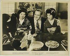 Fredric March + Geisha Girls 1938 8x10 Still Photo for TRADE WINDS 4100-36