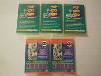1X 1994 Score NFL UNOPENED PROMO SAMPLE PROTOTYPE SET PACK Lots available NMMT