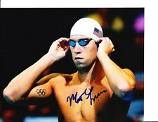 2012 Usa Gold Medal Olympic Swimmer Matt Grevers Signed Putting Cap On 8X10