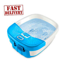 Foot Spa Massager Heat Massage Bubbles Bath Waterfall Feet Water Relax Pedicure