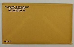 1963 U.S. Mint Silver Proof Set, Gem Coins *SEALED* in Original Envelope