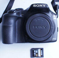 Sony a3000 20.1MP (Body Only) Mirrorless Camera 1013 Shutter count