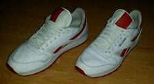 Men's Reebok White Leather 30th Anniversary Shoes Size 12 (M-28)