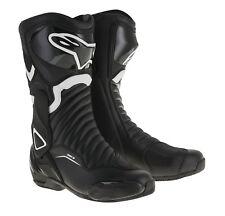 Bottes de moto Alpinestars Stella SMX-6 V2 LADY couleur: Noir/Blanc Tai: 37
