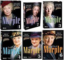 Agatha Christie's Marple Complete 1-6 Series DVD Set Collection Seasons Episodes