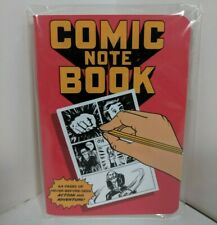 "NEW Comicbook Notebook Compact 5""x4"" LootCrate"