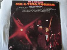 IKE & TINA TURNER & THE IKETTES IN PERSON VINYL LP ORIGINAL LIBERTY STEREO EX