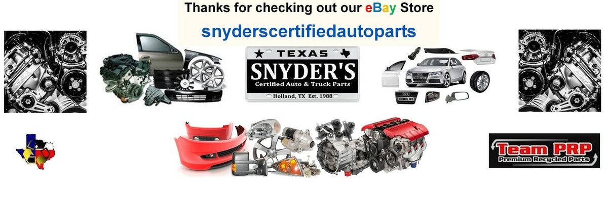Snyder's Certified Auto Parts