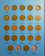 1859-1909 Indian Head Penny Cent Collection  Page 3 Whitman  (NO FOLDER)