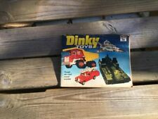 Vintage Dinky Toys booklet/catalogue