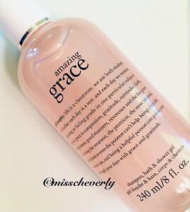 PHILOSOPHY Amazing Grace 3-in-1 Shampoo Bath & Shower Gel 8oz SEALED+FRESH ~ $20