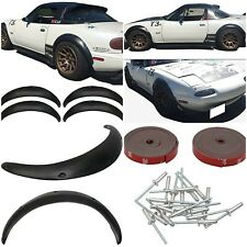 Mazda MX5 90-97 MK1 4 Piece 60mm Wide Arch Fenders Flares Front+Rear   Miata