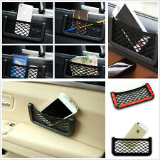 Multifunction Car Storage Resilient Net String Bag Mobile Phone Coins Organizer