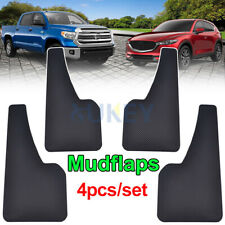 4Pcs Universal Mudflaps Molded Carbon Mudguards Splash Guards Mud Flaps SUV Set