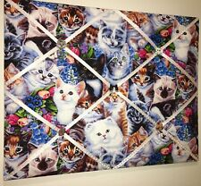 Kitty Cat Pet French Memory Board Animal Room Decor Kitten French Memo Board New